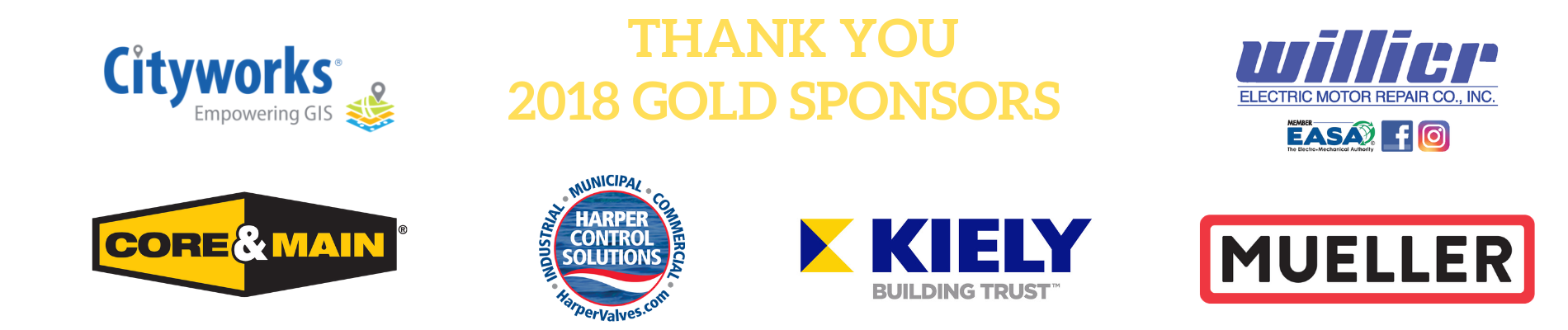 Thank You Gold Sponsors