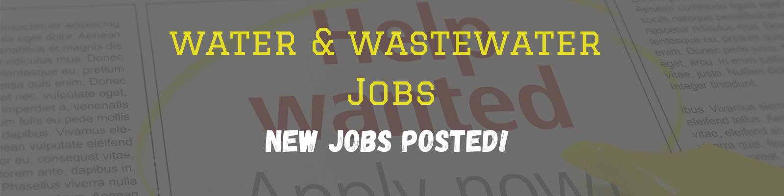 New Jobs posted